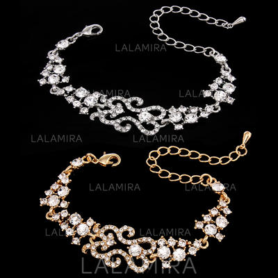 "Bracelets Alloy/Rhinestones Ladies' Elegant 8.66""(Approx.22cm) Wedding & Party Jewelry (011167897)"