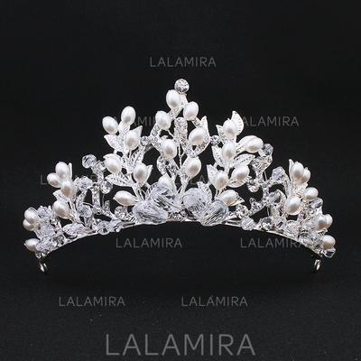 "Tiaraer Bryllup Imitert Perle 4.92""(Ca. 12.5cm) 2.36""(Ca.6cm) Hodepynt (042136749)"