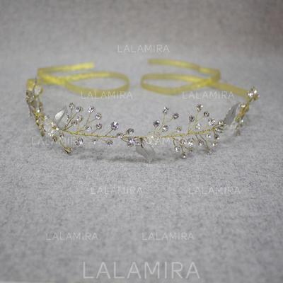 Headbands Wedding/Special Occasion Rhinestone/Alloy Elegant Ladies Headpieces (042158622)