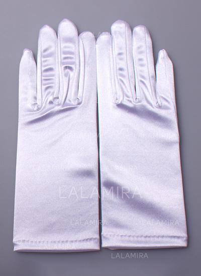 Nylon Ladies' Gloves Wrist Length Bridal Gloves Nylon Gloves (014192148)