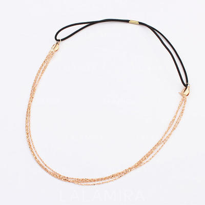 """Headbands Special Occasion/Casual/Outdoor/Party Alloy 22.44""""(Approx.57cm) 1.18""""(Approx.3cm) Headpieces (042155240)"""