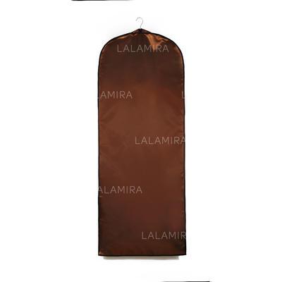 Klesposer Dress Lengde Side Glidelås Faux Lær Sjokolade Bag til Bryllupsklærne (035053134)