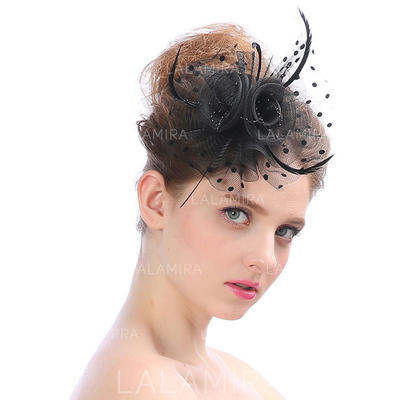 Tulle Fascinators Vintage Ladies' Hats (196195134)
