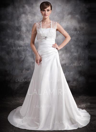 General Plus Sweetheart A-Line/Princess - Taffeta Wedding Dresses (002211256)