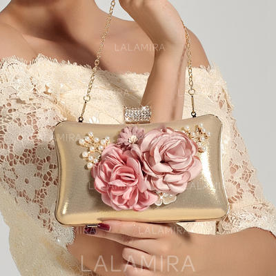 Clutches Wedding/Ceremony & Party PVC Snap Closure Elegant Clutches & Evening Bags (012187539)