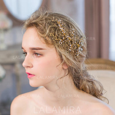 "Combs & Barrettes Wedding/Special Occasion/Party/Art photography Rhinestone 6.50""(Approx.16.5cm) 3.15""(Approx.8cm) Headpieces (042156668)"