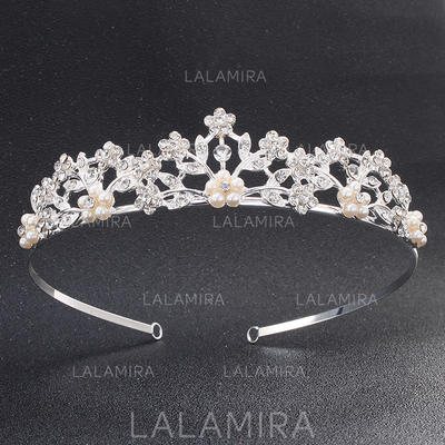Tiaras Wedding/Party Rhinestone Classic Ladies Headpieces (042158494)