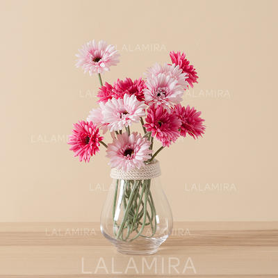 """Vases Free-Form Wedding/Party/Casual Glass 5.91""""(Approx.15cm) Wedding Flowers (123190277)"""
