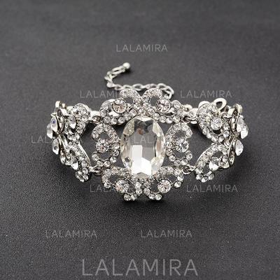 "Bracelets Alloy/Rhinestones Ladies' Fashional 1.57""(Approx.4cm) Wedding & Party Jewelry (011167400)"