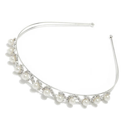 """Headbands Wedding/Special Occasion Alloy/Imitation Pearls 0.59""""(Approx.1.5cm) 5.12""""(Approx.13cm) Headpieces (042152618)"""