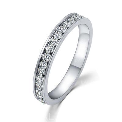 """Anillos Aleación/Diamantes de imitación Señoras' Luminoso 0.78""""(Aprox.2cm) Joyas de boda & fiesta (011076523)"""