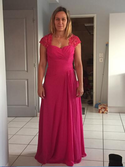 A-Line/Princess Sweetheart Chiffon Delicate Mother of the Bride Dresses (008212768)