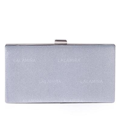 Clutches Wedding/Ceremony & Party Polyester Clip Closure Unique Clutches & Evening Bags (012186332)
