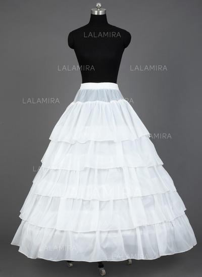 Petticoats Floor-length Satin Ball Gown Slip 5 Tiers Petticoats (037190711)