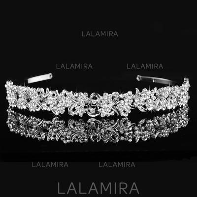 """Tiaras Wedding/Special Occasion Alloy 6.3""""(Approx.16cm) 0.78""""(Approx.2cm) Headpieces (042156357)"""