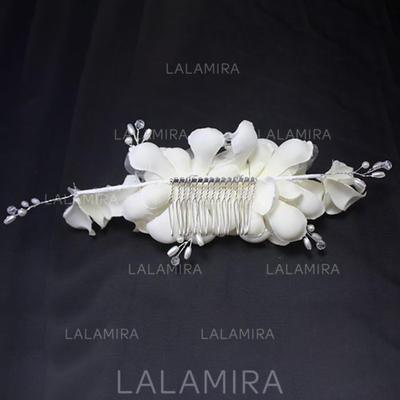 Damer Vakkert Silke blomst Kammer og Barrettes (042122743)