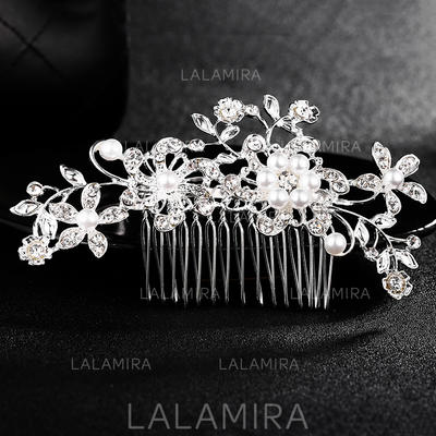 "Combs & Barrettes Wedding Alloy 4.33""(Approx.11cm) 2.37""(Approx.6cm) Headpieces (042159243)"
