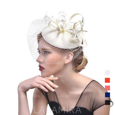 Cambric med Fjær Fascinators Klassisk stil Damene ' Hatter (196119287)