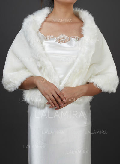 Shawl Special Occasion Faux Fur Other Colors Wraps (013149334)