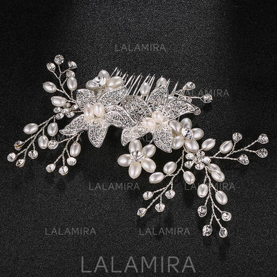 """Combs & Barrettes Wedding Alloy 5.91""""(Approx.15cm) 3.55""""(Approx.9cm) Headpieces (042159250)"""