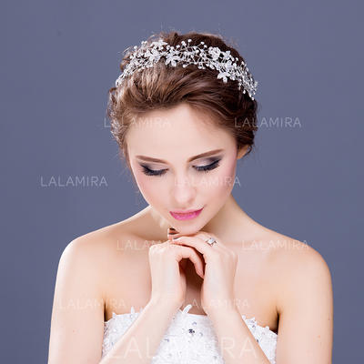 "Headbands Wedding/Special Occasion/Party Crystal/Rhinestone 11.8""(Approx.30cm) 2.36""(Approx.6cm) Headpieces (042154669)"