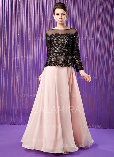 A-Line/Princess Sweetheart Chiffon Elegant Mother of the Bride Dresses (008211450)