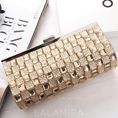 "Clutches Wedding/Ceremony & Party Crystal/ Rhinestone Charming 8.27""(Approx.21cm) Clutches & Evening Bags (012187358)"