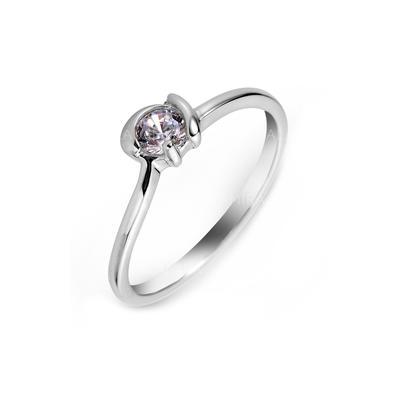 Rings Zircon/Platinum Plated Ladies' Nice Wedding & Party Jewelry (011164838)