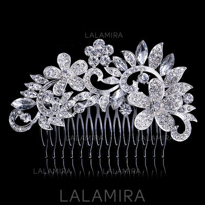 Combs & Barrettes Wedding/Special Occasion/Party Rhinestone Beautiful Headpieces (042157590)