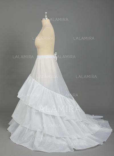 Plus Size Petticoats Nylontulle Netting Ball Gown Slipfull Gown