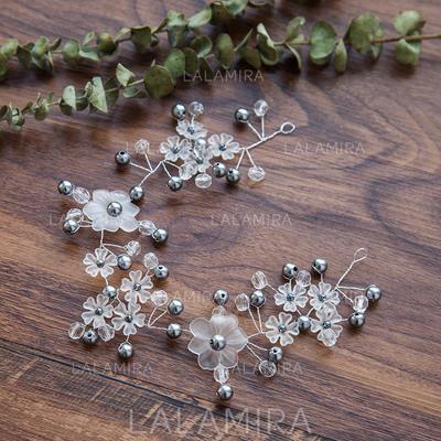 Señoras Hermoso La perla de faux Diademas (042119863)