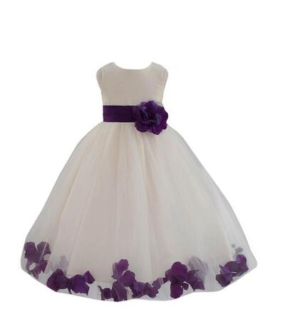 4dd698e2845 Scoop Neck Ball Gown Flower Girl Dresses Flower(s) Sleeveless Knee-length (