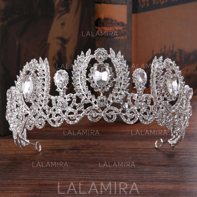 "Tiaras Wedding/Party Rhinestone/Alloy 8.66""(Approx.22cm) 2.56""(Approx.6.5cm) Headpieces (042158736)"