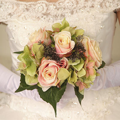 "Bridal Bouquets Round Wedding/Party Dried Flower 9.84""(Approx.25cm) Wedding Flowers (123189859)"