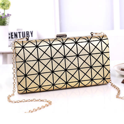 Clutches Ceremony & Party PU Magnetic Closure Fashional Clutches & Evening Bags (012188030)