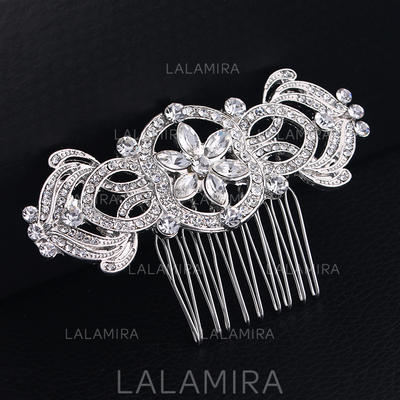 "Combs & Barrettes Wedding/Special Occasion Rhinestone/Alloy 3.27""(Approx.8.3cm) 1.97""(Approx.5cm) Headpieces (042158783)"
