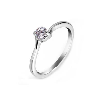 Ringer Zirkon/Platinert Damene ' Elegant Bryllup- & Festsmykker (011055248)