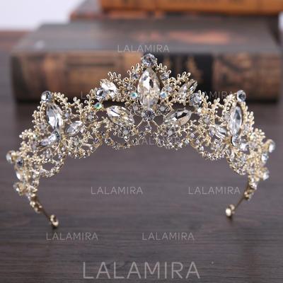 "Tiaras Wedding/Party Rhinestone/Alloy 5.53""(Approx.14cm) 2.17""(Approx.5.5cm) Headpieces (042158735)"