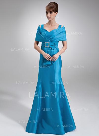 Forme Sirène/Trompette Hors-la-épaule Taffeta Luxueux Robes mère de la mariée (008213117)