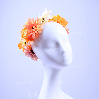 "Headbands Wedding/Special Occasion/Party Artificial Silk 9.06""(Approx.23cm) 9.06""(Approx.23cm) Headpieces (042157413)"