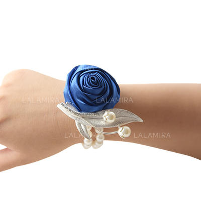 "Wrist Corsage Wedding Satin 3.94""(Approx.10cm) 3.94""(Approx.10cm) Wedding Flowers (123189451)"