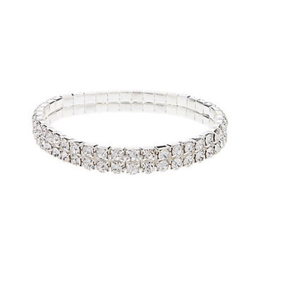 "Bracelets Alloy Crystal Beautiful 6.30""-9.45""(Approx.16cm-24cm) Wedding & Party Jewelry (011162420)"