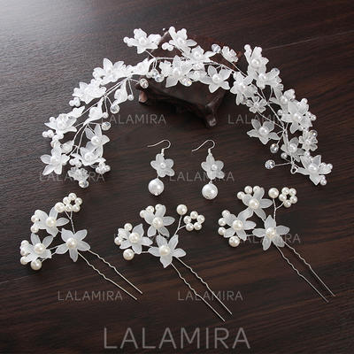 "Hairpins/Headbands Wedding/Special Occasion Alloy 11.8""(Approx.30cm) 2.56""(Approx.6.5cm) Headpieces (042158243)"