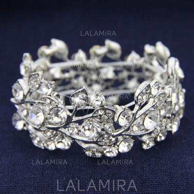 "Bracelets Alloy/Rhinestones Ladies' Shining 6.69""-8.27""(Approx.17cm-21cm) Wedding & Party Jewelry (011167232)"
