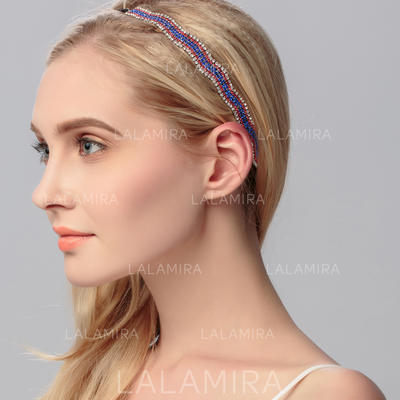 "Headbands Wedding/Special Occasion/Party Rhinestone 9.84""(Approx.25cm) 0.51""(Approx.1.3cm) Headpieces (042156573)"