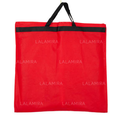 Garment Bags Gown Length Side Zip Tulle/Nonwoven Fabric Red Wedding Garment Bag (035192284)