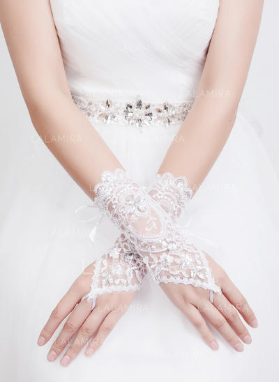 Tulle Ladies' Gloves Bridal Gloves Fingerless 23cm(Approx.9.06inch) Gloves (014192073)