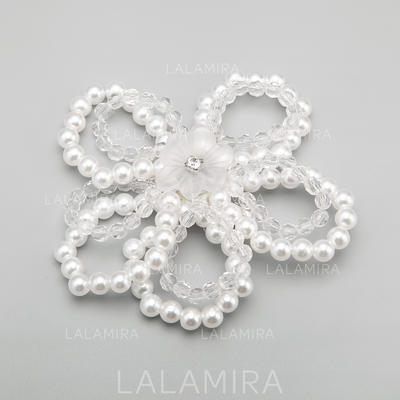 """Combs & Barrettes Wedding/Special Occasion/Party Alloy/Imitation Pearls 4.13""""(Approx.10.5cm) 4.13""""(Approx.10.5cm) Headpieces (042154843)"""