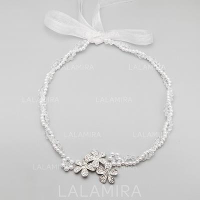 Hermoso Aleación/Perlas de imitación Diademas (042068380)