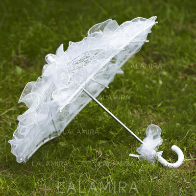Bryllup Paraplye Brude Parasoller Kvinner Bryllup Blonder Bryllup Paraplye (124032711)